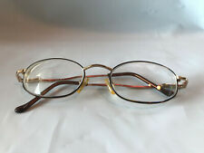 Bugle Boy BB-84 TOR Gold Toned Marine Oval Eyeglass FRAMES ONLY
