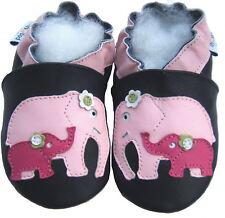 Littleoneshoes SoftSole Leather Baby Kids Children ElephantMom&Baby Shoes 18-24M