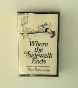 Where The Sidewalk Ends Cassette Shel Silverstein 1984 Audiobook
