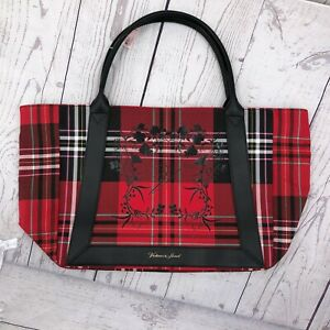 Victorias Secret Limited Edition 2020 Bag Tote Red Plaid Large NEW Black Friday