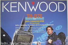 Kenwood th-d7e (véritable brochure uniquement)............ radio_trader_ireland.