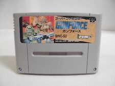 SNES -- GUN FORCE -- Action. Super famicom. Japan game. Work fully!! 12934