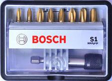 Bosch MaxGrip S1 PHILLIPS Robust Line 25mm Screw Bit Set + Magnetic Bit Holder