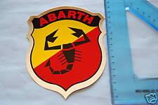 ABARTH  - ADESIVO  LOGO STEMMA  VARI UTILIZZI  15 X 13 Cm