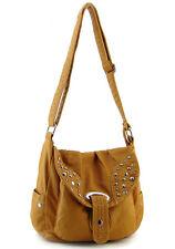 Tan designer Studs  Western inspired Celebrity Shoulder Bag Purse