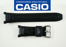 CASIO PATHFINDER  21mmWATCH BAND Strap BLACK  PAG-240  PAG-40 Men's Black Rubber