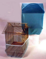 New Sheer Guard Bird Cage Set-Skirt & Cover - Size Small
