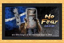 NED KELLY EUREKA FLAG SOUVENIR (AUSTRALIAN BUSH RANGER)  BAR RUNNER MAT