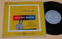 "JELLY ROLL MORTON:10"" TOP JAZZ 1°PRESS USA PRIMI '60"