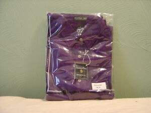 Men's JONATHAN COREY Violet Long Sleeve Dress Shirt Size M NEW!