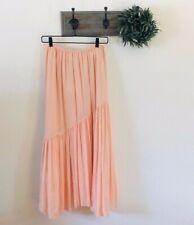 NWT Joie Hiwalani Pink Maxi Skirt M