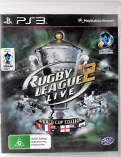 Rugby League Live 2 World Cup Edition PS3 Sony PlayStation 3