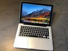 Apple MacBook PRO 13 Core i5 2.4 4GB RAM 500GB HDD High Sierra A1278