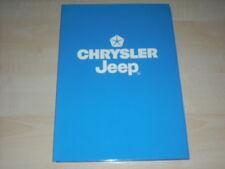 57082) Chrysler Neon - Vision - Stratus - Voyager Pressemappe 03/1992