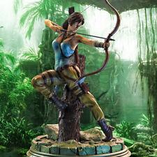 Lara Croft Tomb Raider Kit de Modelo de Resina Personalizado GK figura estatua 1/8