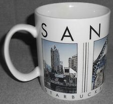 2003 16 oz Starbucks SAN DIEGO City Scenes Series HANDLED MUG