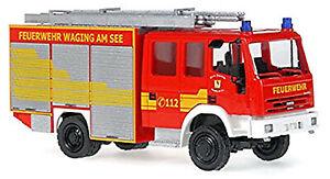 Iveco Magirus EuroFire TLF 16/25 Feuerwehr Waging am See 1:87 Rietze 60697