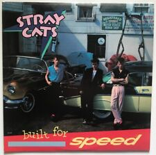 The Stray Cats - Built For Speed - 1982 - Vinyl Record LP