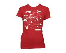 Maroon 5 Mountains Red Girl's / Ladies T-Shirt - Juniors Large