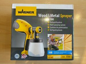 WAGNER W 100 Electric Paint Sprayer for Wood & Metal Paint - NEW