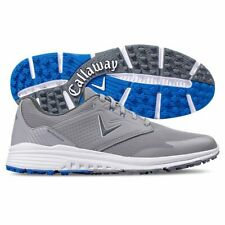 New listing Callaway Solana Spikeless Mens Golf Shoes - Grey/Blue