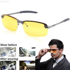 1672 Night Vision Driving Polarized Goggles Men Anti-glare Metal Frame Glasses