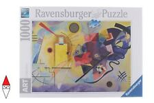 2138366-ravensburger 14848 Kandinsky Wassily Yellow Red Blue Puzzle 1000 PE