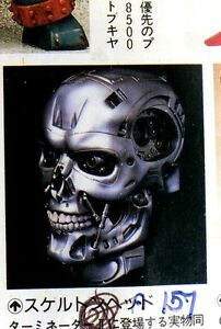 "10""T-800 Skull with LED eyes without Base Terminator Movies Vinyl Model Kit 1/1"