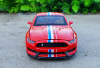 Ford Shelby GT350 1:32 Scale Diecast Alloy Sound&Light Pull Back Car Model Toy