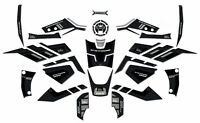 KIT completo ADESIVI 3D per MOTO compatibili SUZUKI V-STROM 1050 VSTROM ARGENTO
