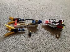 Lego #7131 Anakin's Podracer & #7134 A-Wing Fighter ~ 90% Complete