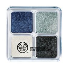 The Body Shop Shimmer Cubes Eye Shadow Quad #20 Blue Moon