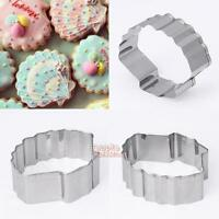 Shell Stainless Steel Biscuit Pastry Cookie Cutter Cake Decor Baking Mold Tool