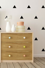 Triangle Wall Stickers : 72 per pack - Choice of colour