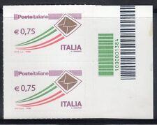 Italia 2011 Codice a Barre 1384 Posta Italiana  MNH**