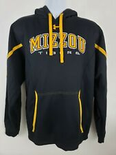 Mizzou Tigers Missouri Black Under Armour Pullover Hoodie Size XL