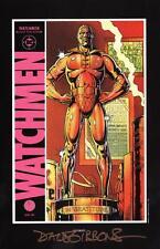 Alan Moore Watchmen Portfolio DC Comic Art Print SIGNED Dave Gibbons #8