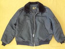 Vintage Timber King 70s Bomber Nylon Flight Jacket M1 Style Men's Xl Wpl 10881