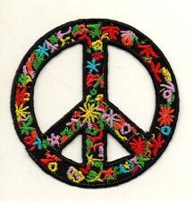 Peace Sign Hippie Hippy Boho Flower Power Love Retro P930 Iron on Patch Jacket