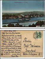1926 Stempel PÖCHLARN auf AK Groß-Pöchlarn a.d. Donau Schiff Nieder-Österreich
