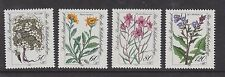 1983 WEST GERMANY MNH STAMP DEUTSCHE BUNDESPOST ALPINE FLOWERS SG 2038 - 2041