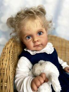 Reborn Baby Doll Maggie von Natali Blick. Limitiert.