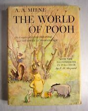 The World of Pooh A. A. Milne Illustrations by E. H. Shepard 1957 1st Ed HC DJ