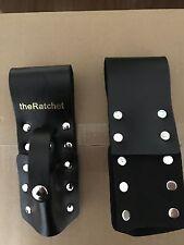 theRatchet: Black Leather Scaffold Wrench/ Ratchet / Podger / Spanner Holder
