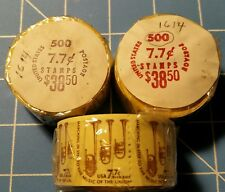 #1614 1976 7.7c Saxhorn USPS Bulk Rate Coil Roll of 500 MNH in Original Wrapper