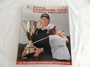 2011 PGA Champions Tour Official Annual! EXCELLENT! ONLY COPY ON eBAY!