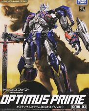 New Tomy Transformers dual model kit DMK03 Optimus Prime Painted
