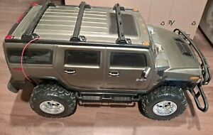 New Bright Hummer H2 1/6 1:6 Scale Radio Control RC Green Army Read Description