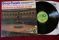 Deep Purple - Concerto For Group And Orchestra 1st press UK Harvest SHVL 767 EX
