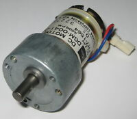 Toshiba High Speed Gearhead Motor - 24 V DC - 400 RPM - DGM-0041-2A - 6mm Shaft